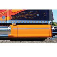 Peterbilt 387 Stainless Steel Fairing Accent