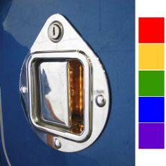Peterbilt Square LED Chrome Door Handle Cover