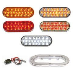 Oval Pearl LED Light Kits (24 diodes)