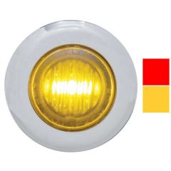 "1 1/8""D Dual Function Mini LED Light with Bezel"