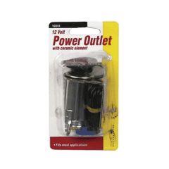 12 Volt Plug In Power Outlet