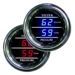 Dual Tractor and Turbo Pressure Gauge