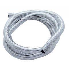 "1/2"" Chrome Plastic Wire Loom"
