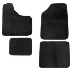 Peterbilt 4 Piece Black Carpet Floor Mat Set