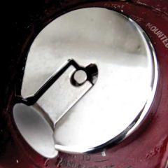 Peterbilt Fuel Cap Cover for T-Handle Oval Notch