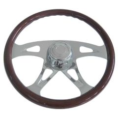 "Freightliner 4 Spoke Boss Steering Wheel 18"""