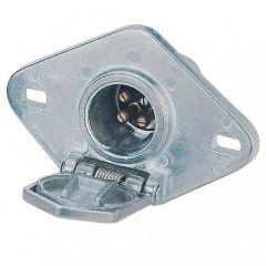 Round 4-Way Split Pin Male Plug Connector