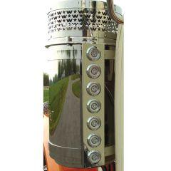 "Western Star 15"" Donaldson Rear AC LED Light Bars"