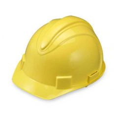 Yellow Adjustable Ratchet Hard Hat