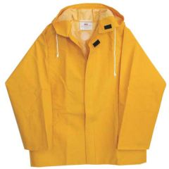 3XL 50mm PVC Yellow Rain Jacket