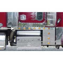 Peterbilt 379 Extended Cab Panels with LED Lights