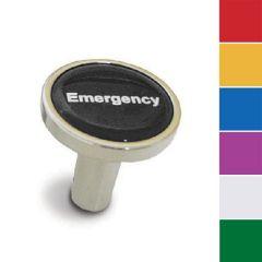 Chrome Emergency Long Air Valve Knob - Pin On