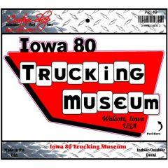 Iowa 80 Trucking Museum Decal