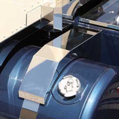 Peterbilt Mitered Tank Saddle Covers (pair)