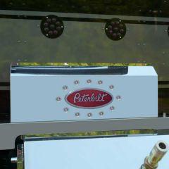 Peterbilt Shock Cover with 12 Bullseye LED Lights