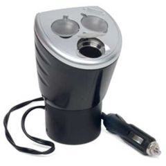 12 Volt Power Outlet with 3 Sockets and 1 USB Port