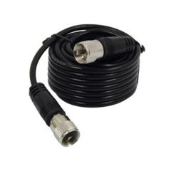 18' CB Antenna Coax Cable with PL-259 Connectors