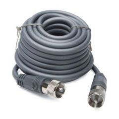 18' Gray CB Antenna Mini-8 Coax Cable