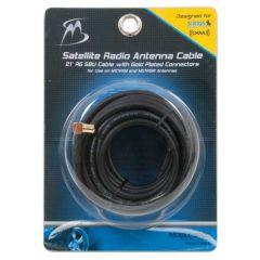 Satellite Radio Antenna Coax Cable 21'