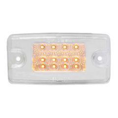 Freightliner Spyder Am/Clr LED Cab Marker Light