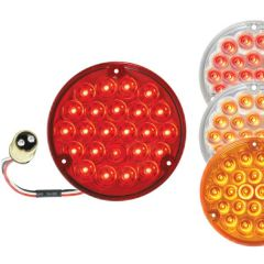 """4"""" Round Pearl LED Replacement Light with 1157 Plug"""