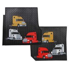 Freightliner Custom Trim-to-fit Floor Mats