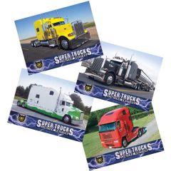 Series 12 CAT Scale Super Trucks Card Set