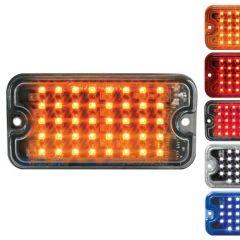 "3"" 40 LED Ultra Thin 8 Flash Strobe Light"