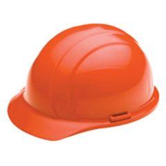 Orange Americana Style High Visibility Hard Hat