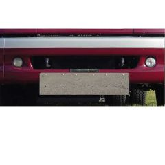 Freightliner Classic, FLD, Columbia Plate Holder