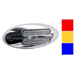 "3"" Flatline Mini LED Marker Lights"