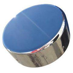 Freightliner Chrome Billet Aluminum Fuel Cap Cover