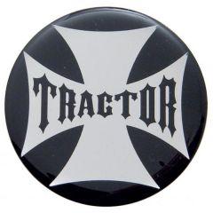 """Tractor"" Maltese Cross Air Valve Knob Sticker"