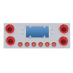 Stainless Steel Rear Center Panel with Halo LED