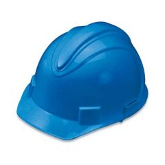 Blue Adjustable Ratchet Hard Hat
