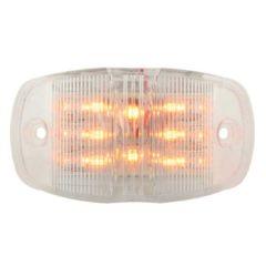 AM/CLR Rectangular Dual Function LED Light