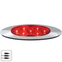 RD/RD Ultra Thin Spyder LED Dual Function Light