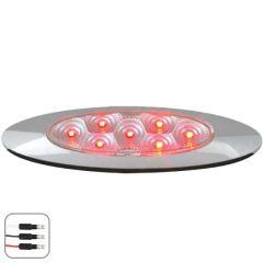 RD/CLR Ultra Thin Spyder LED Dual Function Light