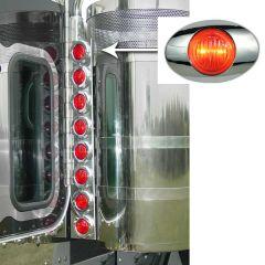 "Peterbilt 15"" Preminum Donaldson Rear Air Cleaner Lights"