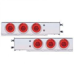 Spring Loaded Rear Light Bar w/ Red S/T/T Lights