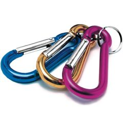Multi-Color D-Clip Key Holder