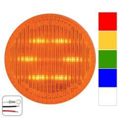 "2"" Round Dual Function LED Light"