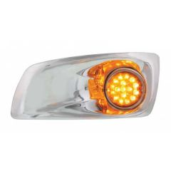 Kenworth T660 Front Bumper Light with Bezel