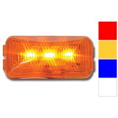 Small Rectangular Rail Style LED Marker Light