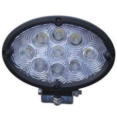 "6"" 9 LED Oval Work Light"