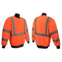 Orange Safety Sweatshirt