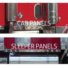 "PB 379 Cab and 70"" Sleeper Panels w/2"" Inc. Lights"