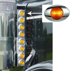 "PB 15"" Preminum Donaldson Front Air Cleaner Lights"