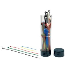 Colored Cable Tie Assortment 250 Piece