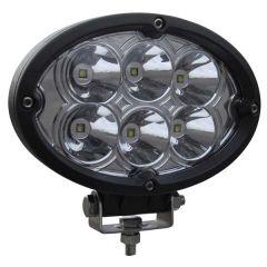 "6"" 6 LED Oval Work Light"